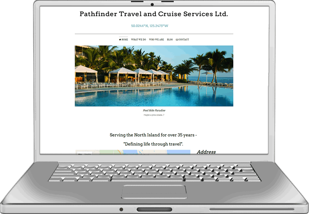 Pathfinder Travel Website Design
