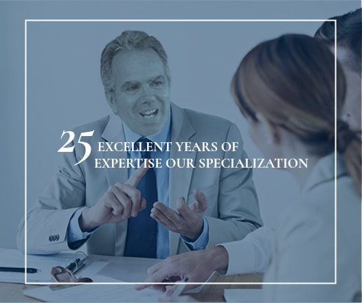 Services Offered 25 Years Of Experiece