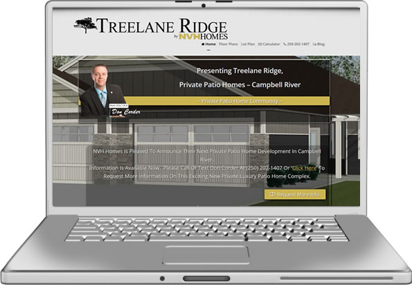 Treelane Ridge Website Design