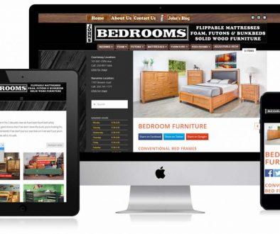 Johns Bedrooms Website Design