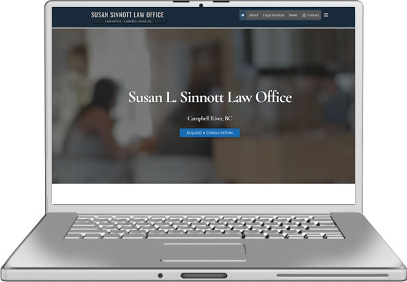 Susan L. Sinnott Website Design