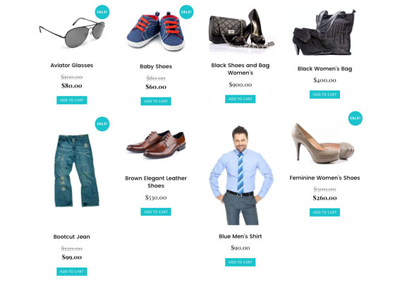 Woocommerce Shopping Cart Website Design