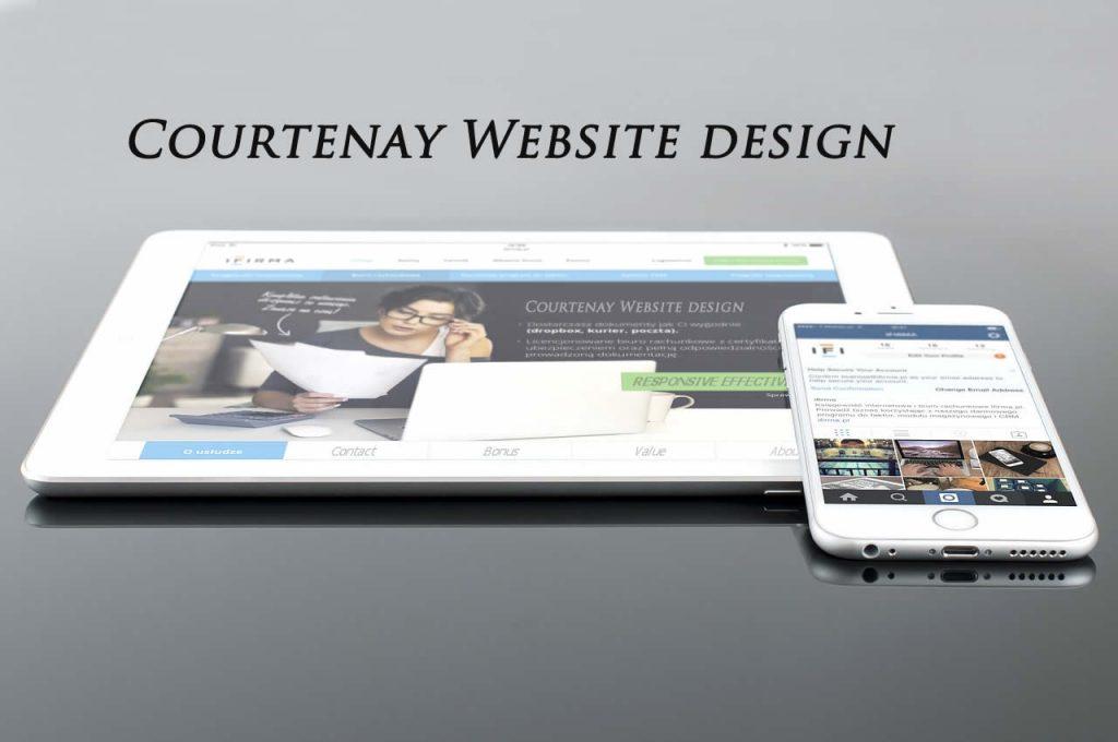 courtenay web design