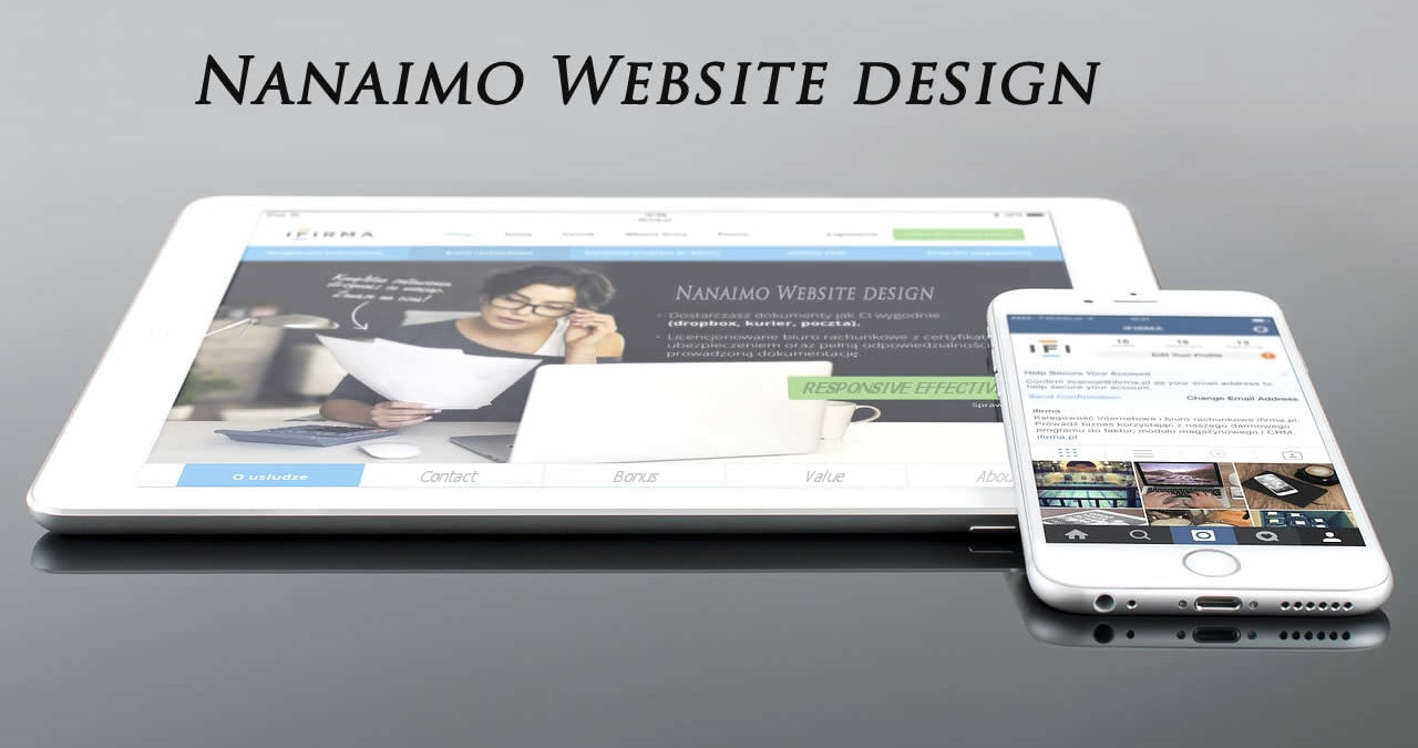 nanaimo web design
