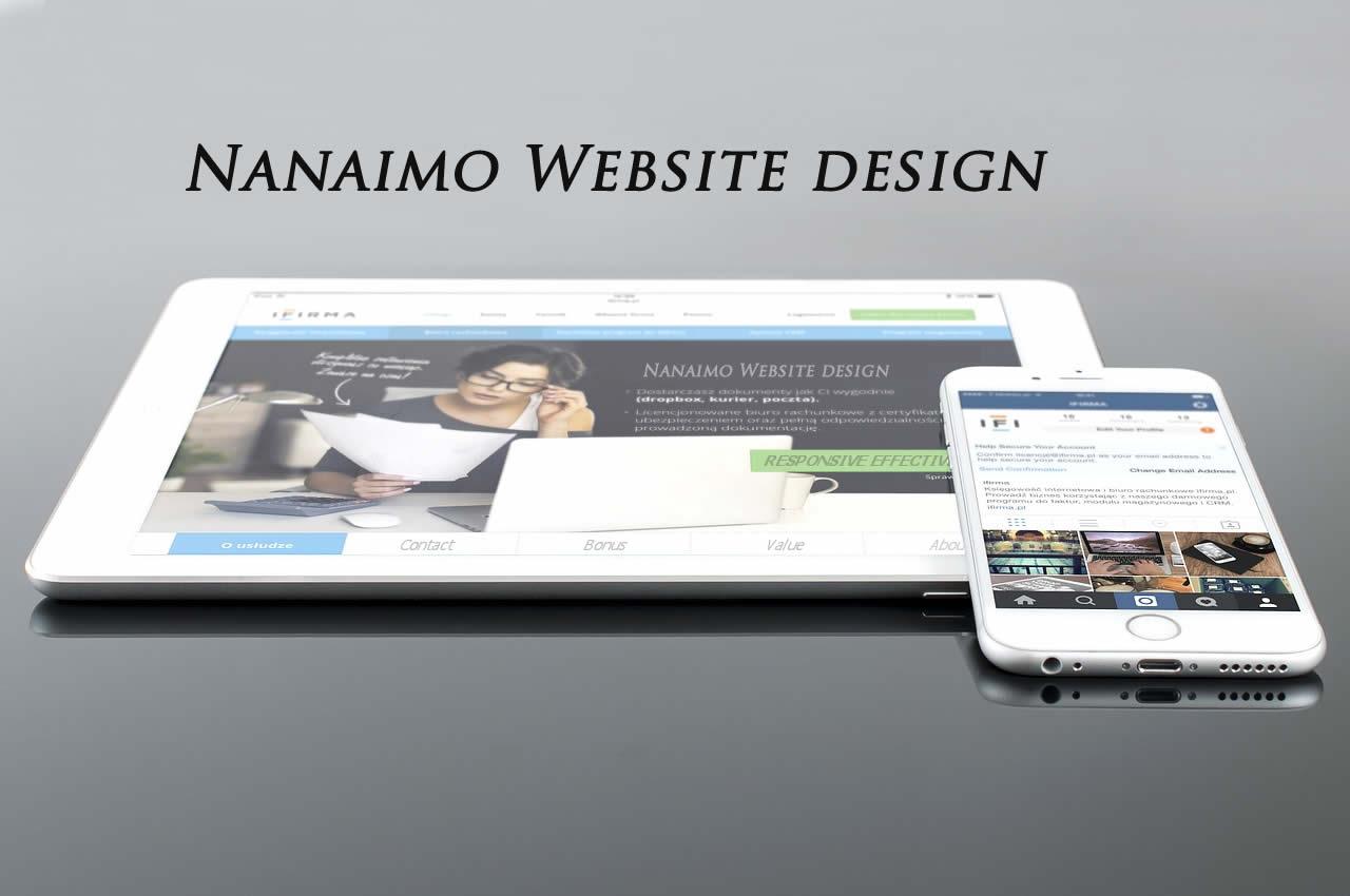 nanaimo web design