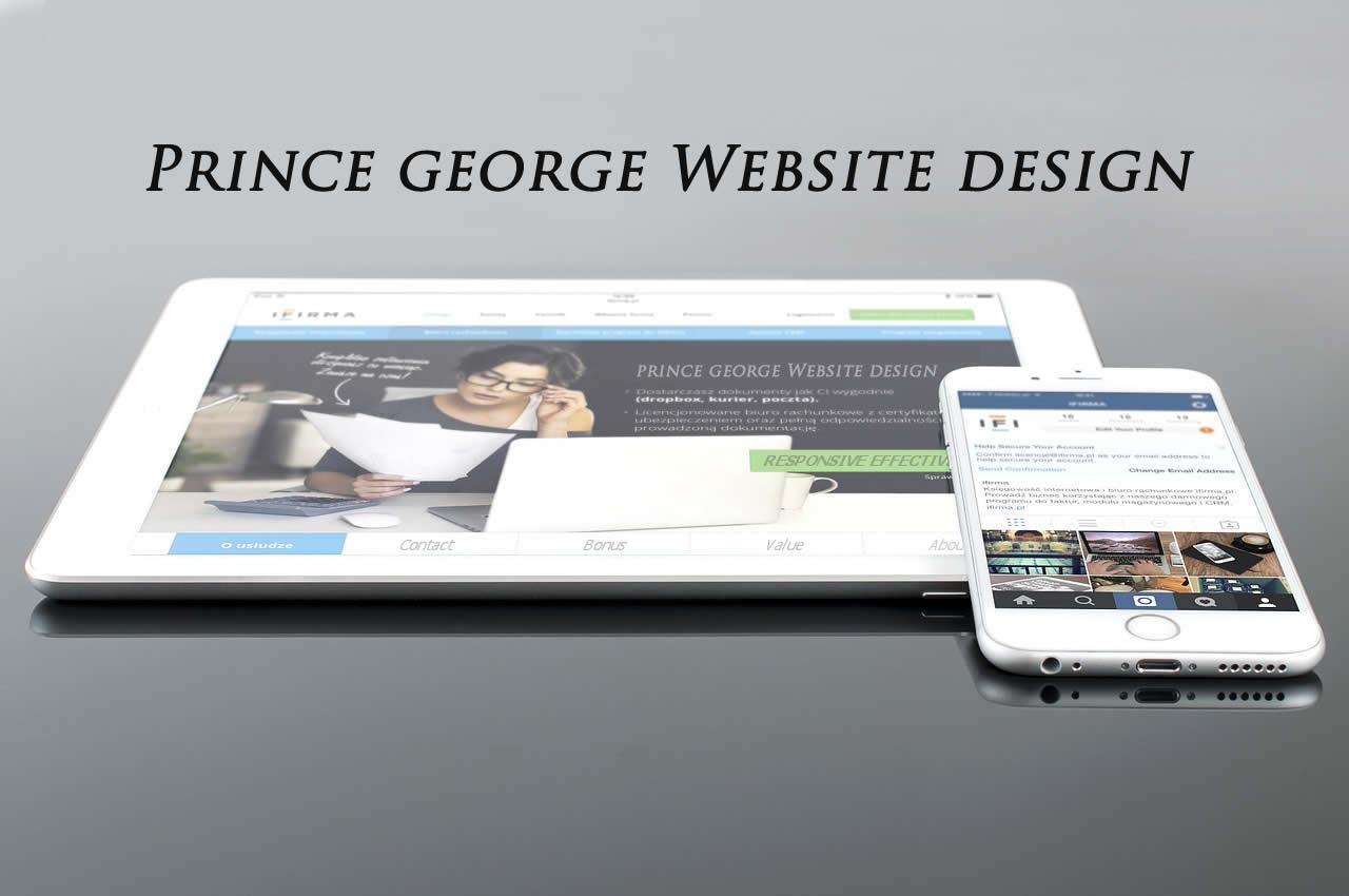 prince george web design