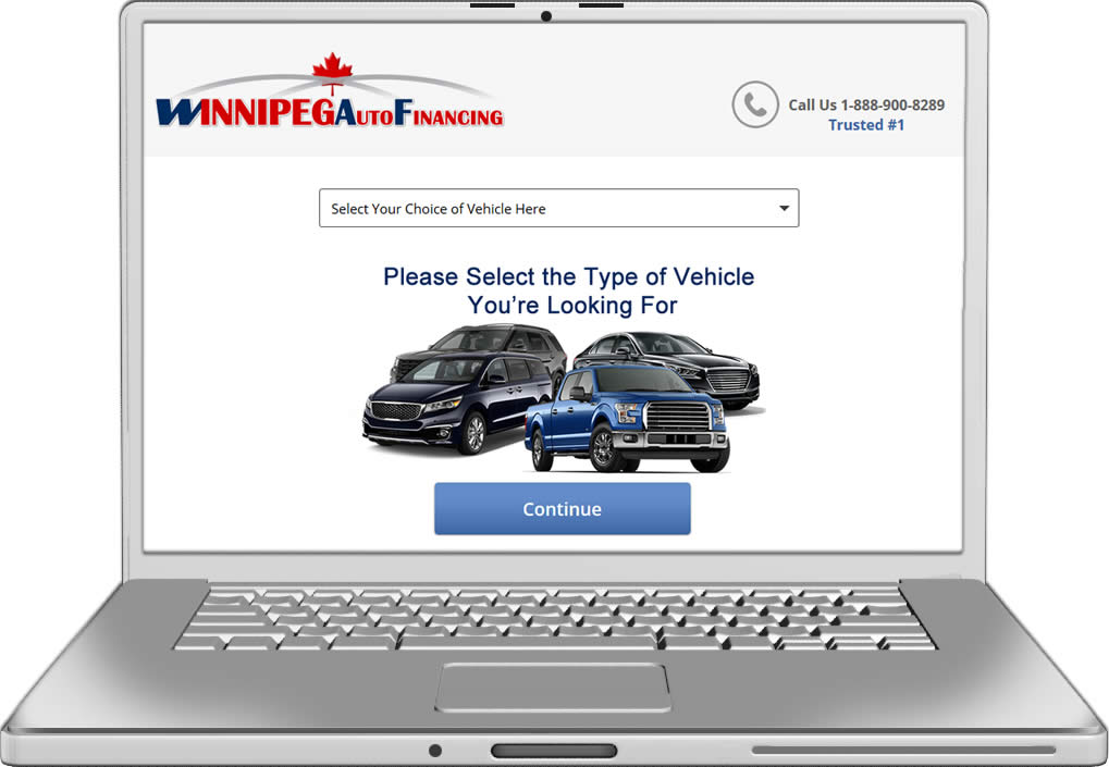 winnipeg Auto Financing Website Design